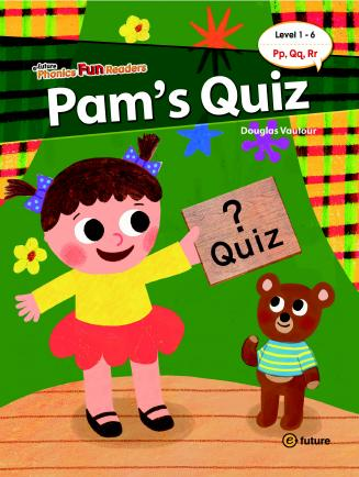 Phonics Fun Readers Level 1 Pam's Quiz (with CD)