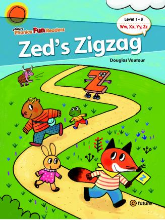 Phonics Fun Readers Level 1 Zed's Zigzag (with CD)