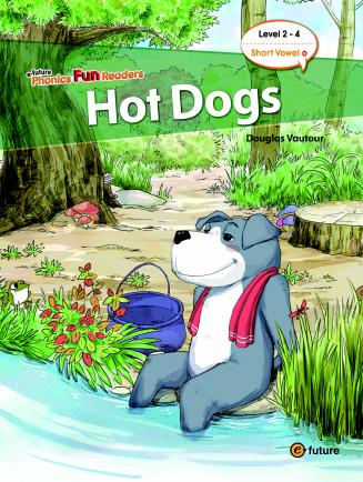 Phonics Fun Readers Level 2 Hot Dogs (with CD)