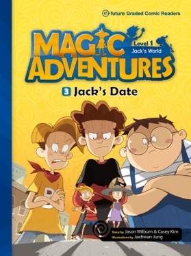 Magic Adventures Graded Comic Readers 1-3: Jack's Date (with CD)