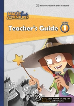 Magic Adventures Graded Comic Readers 1 Teacher\'s Guide with Word Cards