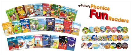 Phonics Fun Readers Full Set (25 books with CD)