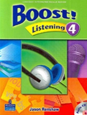 Boost Listening 4 Student Book with CD