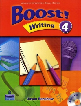 Boost Writing 4 Student Book with CD