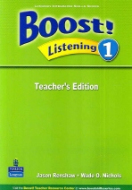 Boost Listening 1 Teacher's Edition