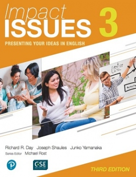 Impact Issues 3rd Edition 3 Student Book with Online Code