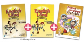 English Land 2nd Edition 2 English Land and English Language Booster Special Starter Pack