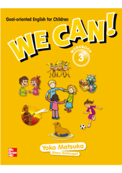 We Can! 3 Workbook with Downloadable Audio