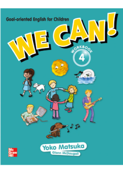 We Can!  4 Workbook with Downloadable Audio