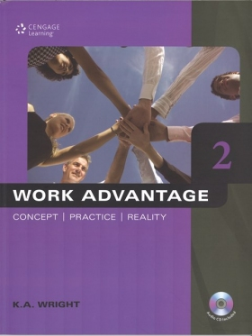 Work Advantage: Concept, Practice, Reality Book 2 Student Book with MP3 Audio