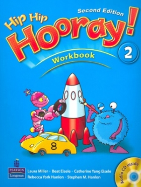 Hip Hip Hooray 2nd Edition 2 Workbook with CD