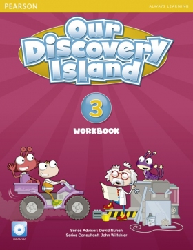 Our Discovery Island 3 Workbook with Audio CD
