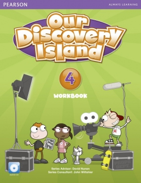 Our Discovery Island 4 Workbook with Audio CD