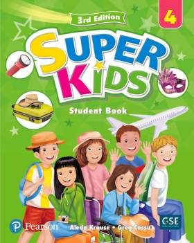 SuperKids 3rd Edition 4 Student Book with 2 Audio CDs and PEP access code