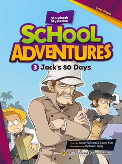 School Adventures Graded Comic Readers 2-3: Jack\'s 80 Days (with CD)