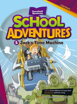 School Adventures Graded Comic Readers 2-5: Jack\'s Time Machine (with CD)