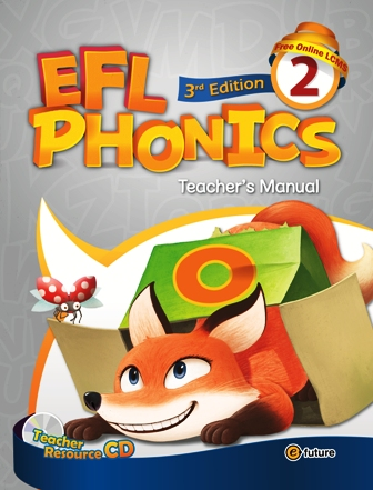 EFL Phonics 3rd Edition: Teacher's Manual 2 with Resource CD