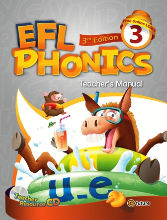EFL Phonics 3rd Edition: Teacher's Manual 3 with Resource CD