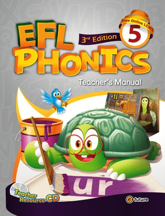 EFL Phonics 3rd Edition: Teacher's Manual 5 with Resource CD