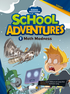 School Adventures Graded Comic Readers 3-1 : Moth Madness (with CD)