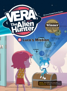 Vera the Alien Hunter 1-4: Luca\'s Mission (with CD)