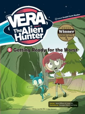 Vera the Alien Hunter 1-5: Getting Ready for the Worst (with CD)