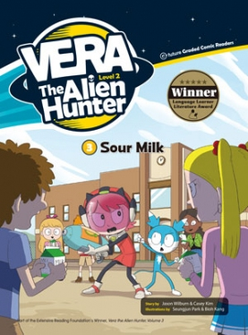 Vera the Alien Hunter 2-3: Sour Milk (with CD)