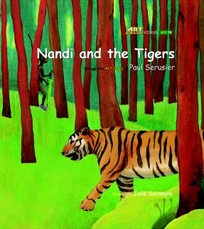 Art Classic Stories Level 2 Nandi and the Tigers with CD, illustrated in the style of Paul Serusier (Book No. 15)