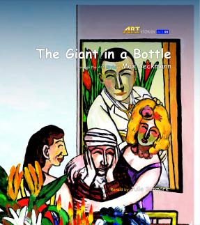 Art Classic Stories Level 1 The Giant in a Bottle with CD, illustrated in the style of Max Beckmann (Book No. 8)