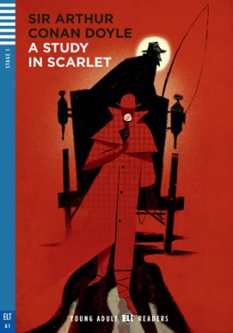 Young Adult ELI Readers 1: A Study in Scarlet (with CD)