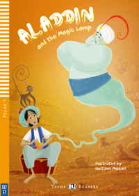 Young ELI Readers 1: Aladdin and the Magic Lamp (with CD)