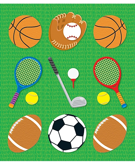 Prize Pack Stickers: Sports (CD-168045)