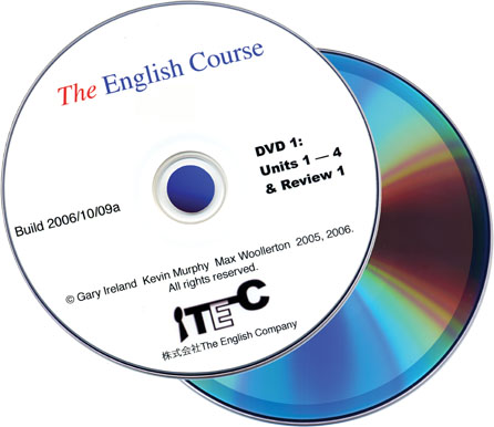The English Course Speaking Book One - DVD (DVD Only)