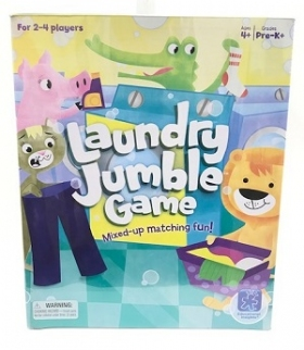 Laundry Jumble Game