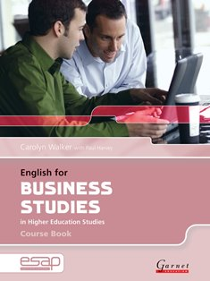 English for Specific Academic Purposes: English for Business Studies Course Book with audio CDs
