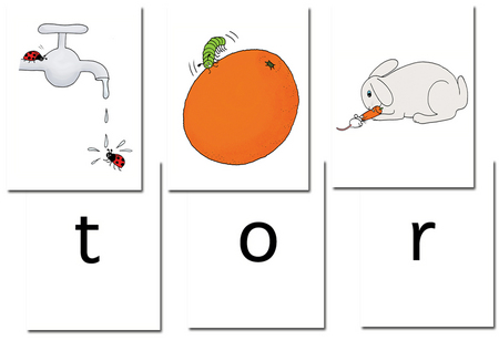 Jelly and Bean (Follifoot Farm): Word Cards 3 (Letter and Writing)