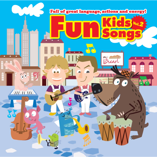 Fun Kids Songs Vol. 2 CD