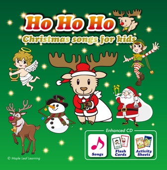 Ho Ho Ho Christmas Songs for Kids (Enhanced CD)