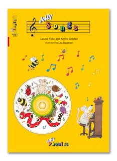 Jolly Phonics Audio/DVD