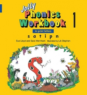 Jolly Phonics Workbooks 1 (in Print letters)