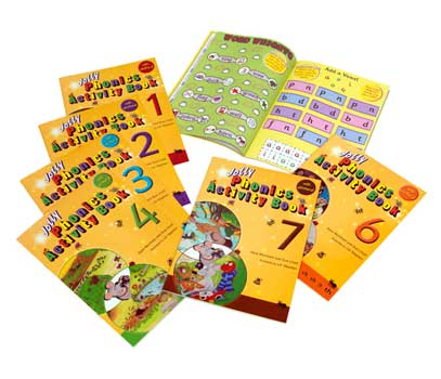 Jolly Phonics Activity Books