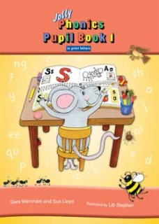Jolly Phonics Pupil Book 1 (Colour in print letters)