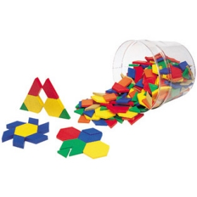 Plastic Pattern Blocks