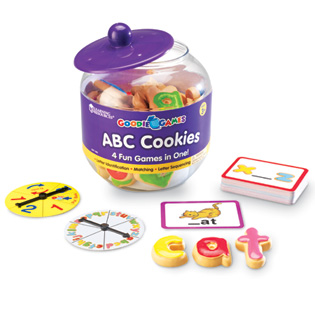 Goodie Games™ ABC Cookies  おやつポット ABCクッキー