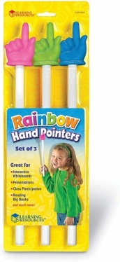 Rainbow Pointers (Set Of 3) 38cm