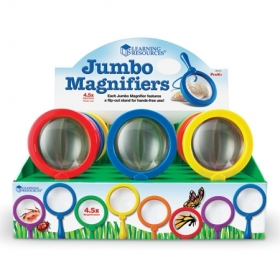 Primary Science Jumbo Magnifiers, Set of 12 ジャンボ虫眼鏡 12個セット