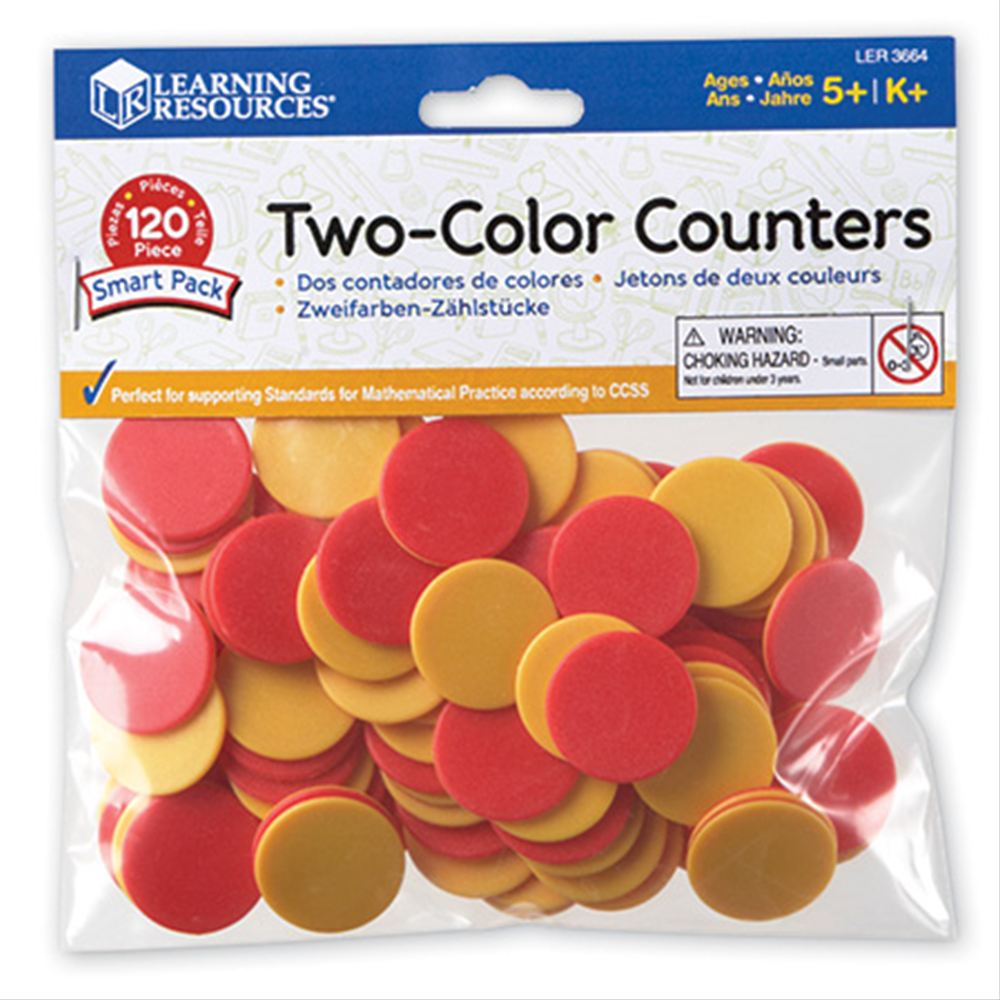 Two-Color Counters  カラフルカウンター 赤&黄色