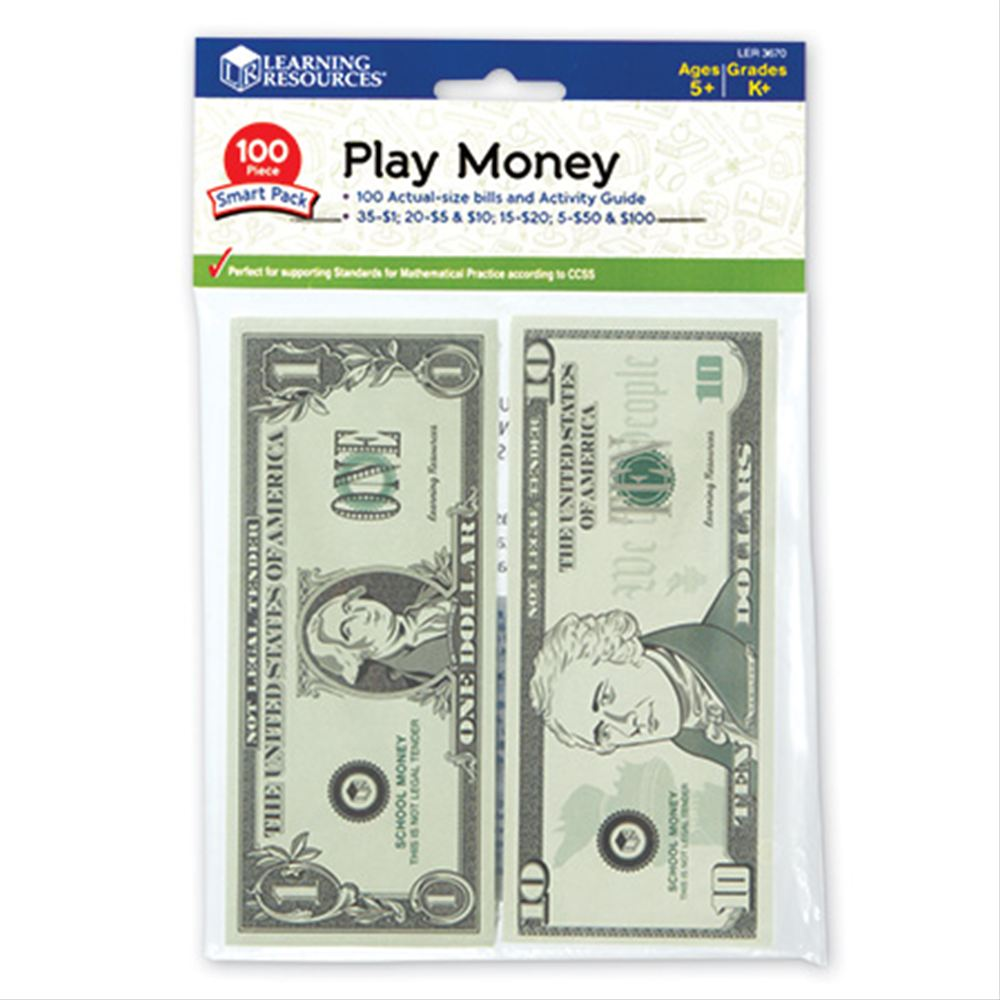 Play Money Smart Pack  紙幣ミニセット