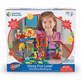 Gears! Gears! Gears! Dizzy Fun Land Motorized Building Set カラフルギアブロック ディジーファンランド