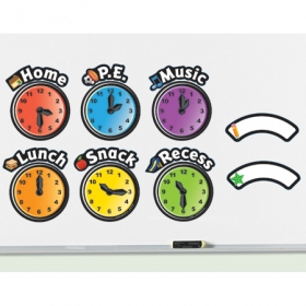 Magnetic Daily Schedule Clocks